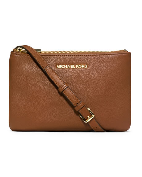 6a28527b176b MICHAEL KORS MICHAEL Michael Kors Bedford Gusset Crossbody Bag 32T3GBFC3L