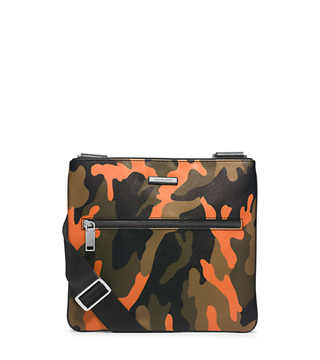48704d4c47c8 MICHAEL KORS Jet Set Men s Camouflage Small Crossbody 33F4MMNC1R