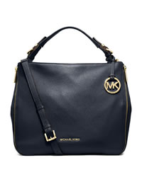 Legacy Weekend Colorblock Leather Shoulder Bag 20