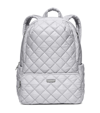 Roberts Medium Quilted-Nylon Backpack - DOVE - 30S6SRJB8C