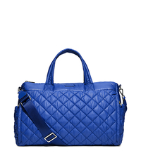 Roberts Large Quilted-Nylon Yoga Duffel Bag - ELECTRIC BLUE - 30S6SRJU3C