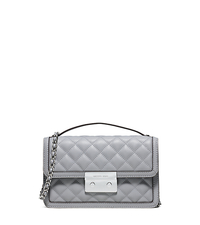 Sloan Small Quilted-Leather Crossbody - DOVE - 30S6SSLM1L
