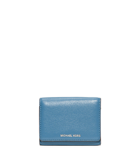 Liane Small Leather Billfold - SKY - 32S6SL3F1L