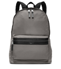 Kent Nylon Backpack - STEEL GREY - 33F5LKNB2C
