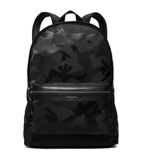 Kent Camouflage Nylon Backpack - BLACK - 33S6LKNB2U