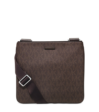 MD FLAT CROSSBODY - BROWN - 33S6MMNC2B