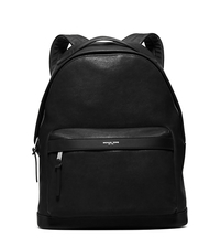 Grant Leather Backpack - BLACK - 33S6SGRB2L