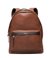 Grant Leather Backpack - LUGGAGE - 33S6SGRB2L
