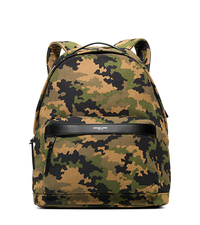Grant Camouflage Bonded-Canvas Backpack - MOSS - 33S6SGRB2R