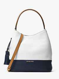 Kip Large Leather Bucket Bag - OPT/ADMIRAL - 30H6GK8M3T