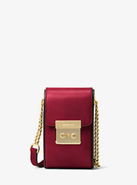 Scout Leather Crossbody - CHERRY - 32H6GB2C2L