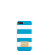 Striped Plastic Phone Case - ONE COLOR - 32S3GELL1O