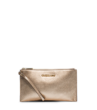 Bedford Metallic Leather Large Clutch - ONE COLOR - 32F4MBFW3M