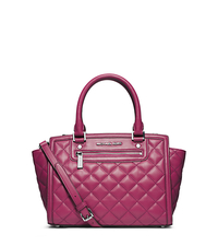 Selma Leather Medium Satchel - ONE COLOR - 30F4SZQS2L