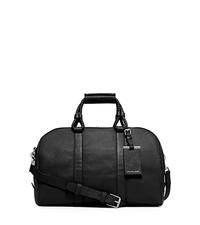 Bennett Medium Pebbled-Leather Duffel - BLACK - 33S5SBTU2L