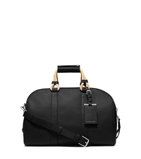 Bennett Pebbled-Leather Duffel - BLACK - 33S5SBTU2T