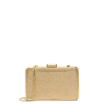 Elsie Crystal-Embellished Box Clutch - BLUSH - 30H4GBXC1U