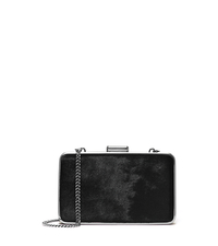 Elsie Hair Calf Box Clutch - ONE COLOR - 30H4TBXC5H