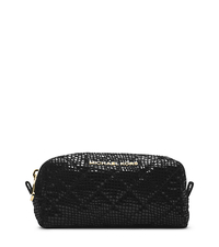 Susannah Snake Pattern-Embossed Patent-Leather Pouch - ONE COLOR - 32H4GAHM1G