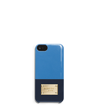 Color-Block Phone Case for iPhone 5 - HERITAGE BLUE - 32H4GELL1T