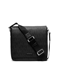 Jet Set Logo Medium Messenger - BLACK - 33S5SMNM6B