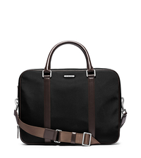 Windsor Large Nylon Briefcase - BORDEAUX - 33S5SWDA7C
