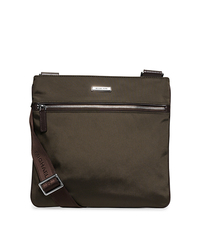 Windsor Medium Nylon Crossbody - BLACK/BROWN - 33S5SWDC2C