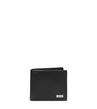 Saffiano Leather Billfold - BLACK - 39S5LMNF1L