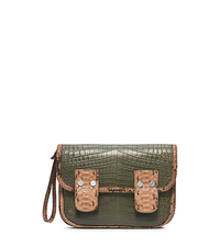 Taylor Large Crocodile Clutch - ONE COLOR - 31H4TTLC3R