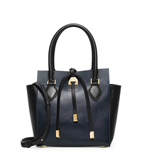 Miranda Extra-Small Color-Block Leather Crossbody - NAVY - 31H4GMBT1L