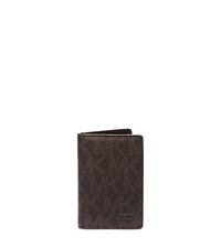 Jet Set Logo BiFold Wallet - BROWN - 39S5SMNE5B