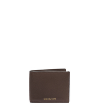 Jet Set Pebbled-Leather Wallet - BROWN - 39S5SMNF5T