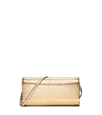 Lana Metallic Leather Clutch - ONE COLOR - 30S5MKYC1M