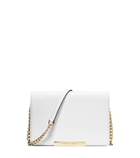 Lana Leather Wristlet - OPTIC WHITE - 32S5GKYW2L