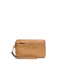 Bedford Medium Leather Wristlet - PEANUT - 32T4GBFW2L