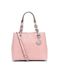 Cynthia Small Saffiano Leather Satchel - BLOSSOM - 30S5SCYS1L