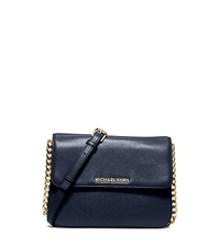 Bedford Leather Crossbody - NAVY - 32T5GBFC7L