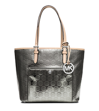 Jet Set Medium Monogram Tote - NICKEL - 30T5MTTT6Z