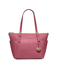 Jet Set Top-Zip Saffiano Leather Tote - TULIP - 30F2GTTT8L