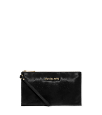 Bedford Large Calf Hair Wristlet - BLACK - 32F5GSFW2H