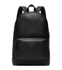 Dylan Leather Backpack - BLACK - 33F5LDYB2L