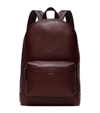 Dylan Leather Backpack - OXBLOOD - 33F5LDYB2L