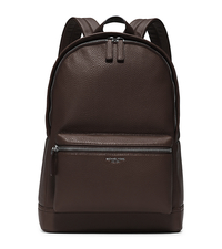 Bryant Leather Backpack - BROWN - 33F5LYTB2L