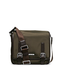 Windsor Medium Nylon Messenger - BORDEAUX - 33F5SWDM2C