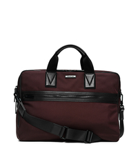 Parker Large Nylon Briefcase - OXBLOOD - 33F5TPKA3C