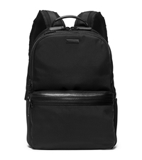 Parker Nylon Backpack - BLACK - 33F5TPKB2C