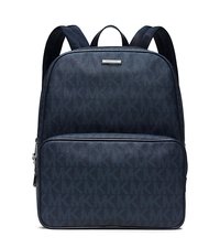 Jet Set Logo Backpack - BALTIC BLUE - 33S5SMNB2B