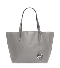 Izzy Large Reversible Leather Tote - PGREY/STGREY - 30S5SZYT7U
