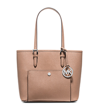 Jet Set Medium Saffiano Leather Tote - BLUSH - 30F4STTT8L