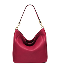 Fulton Medium Leather Shoulder Bag - CHERRY - 30H5GFTL2L